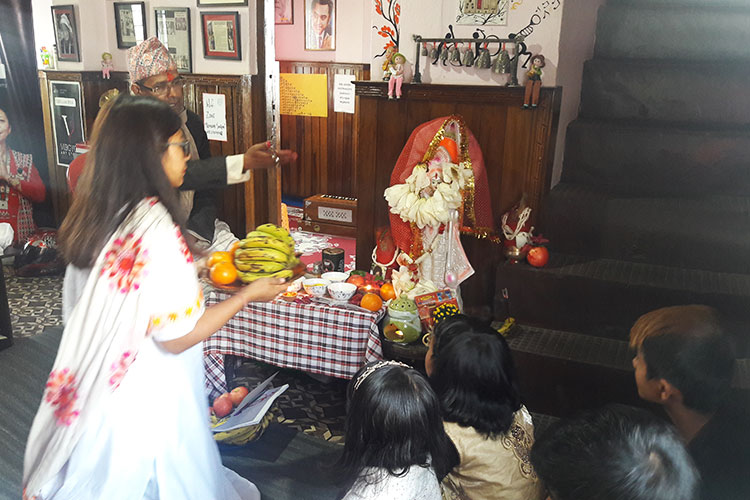 Saraswati Puja at RSA
